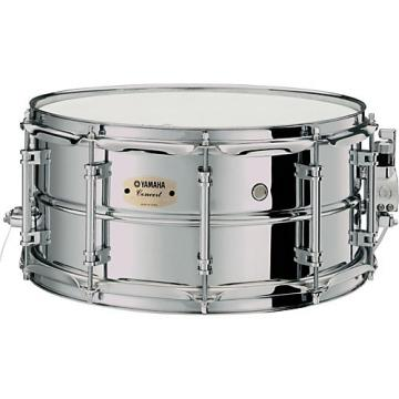 Yamaha Intermediate Concert Snare Drum; 1.2mm Chrome-Plated Steel Shell 14 x 6.5 in.