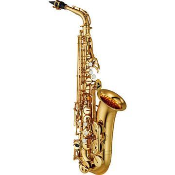 Yamaha YAS-480 Intermediate Eb Alto Saxophone Silver Plated