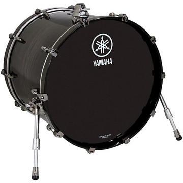 """Yamaha Live Custom 22x18"""" Bass Drum Black Shadow Sunburst"""