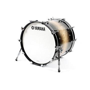 Yamaha Phoenix Bass Drum without Tom Mount 22 x 18 in. Textured Black Sunburst