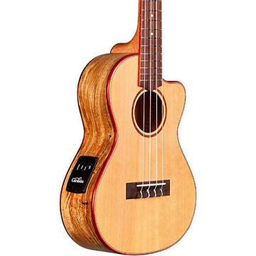Cordoba 24T-CE Tenor Acoustic-Electric Ukulele Natural