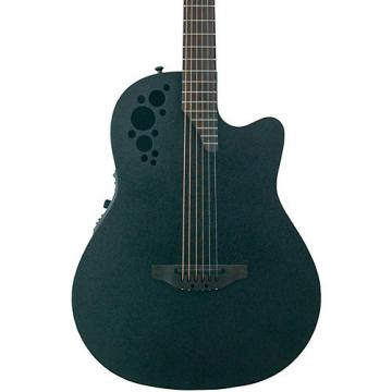 Ovation Ovation Elite TX A/E D-Scale Mid-Depth Textured Black