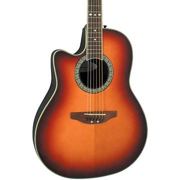 Ovation Celebrity Standard Left-Handed Acoustic-Electric Guitar Honey Burst