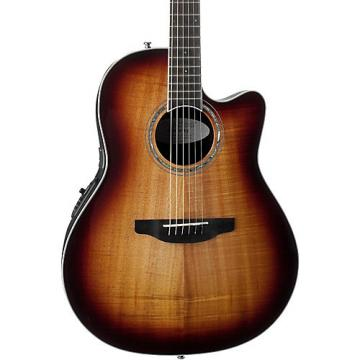 Ovation CS28P Celebrity Plus Acoustic-Electric Guitar Koa Burst