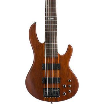 ESP LTD D-6 6-String Bass Guitar Satin Natural