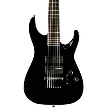 ESP Stef Carpenter 7-string Baritone Electric Guitar Black