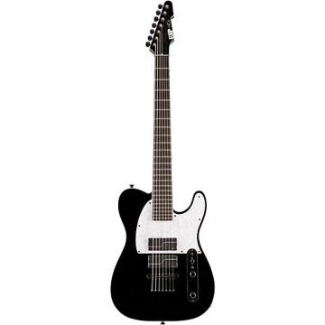 ESP Stef Carpenter T 7-string Baritone Electric Guitar Black