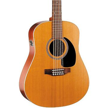 Seagull Coastline Series S12 Dreadnought 12-String QI Acoustic-Electric Guitar Natural