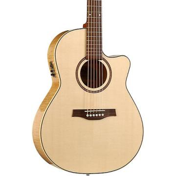 Seagull Performer Cutaway Folk QI Acoustic-Electric Guitar Natural