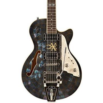 Duesenberg USA Alliance Soundgarden Black Hole Sun Electric Bass Guitar Mother of Pearl