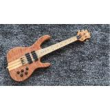 Custom 4 String Ken Smith Bass Maple Fretboard 21.5 inch scale length Neck through body