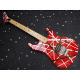 Custom Shop EVH 5150 Red White Electric Guitar