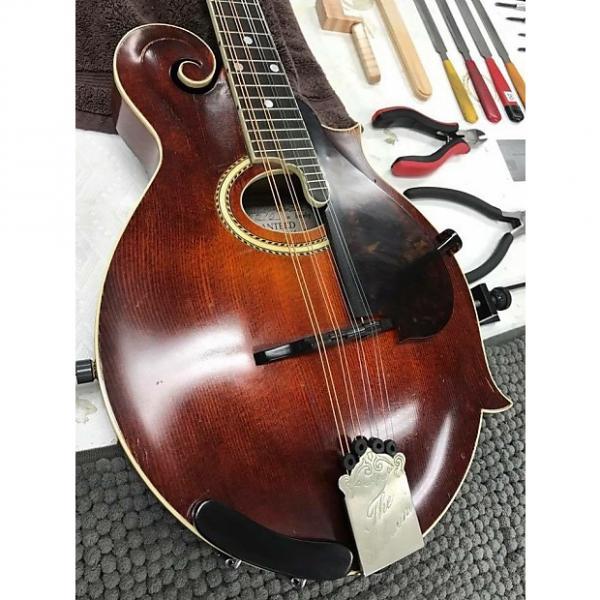 Custom The Gibson F2 Mandolin 1915 Red Sunburst #1 image