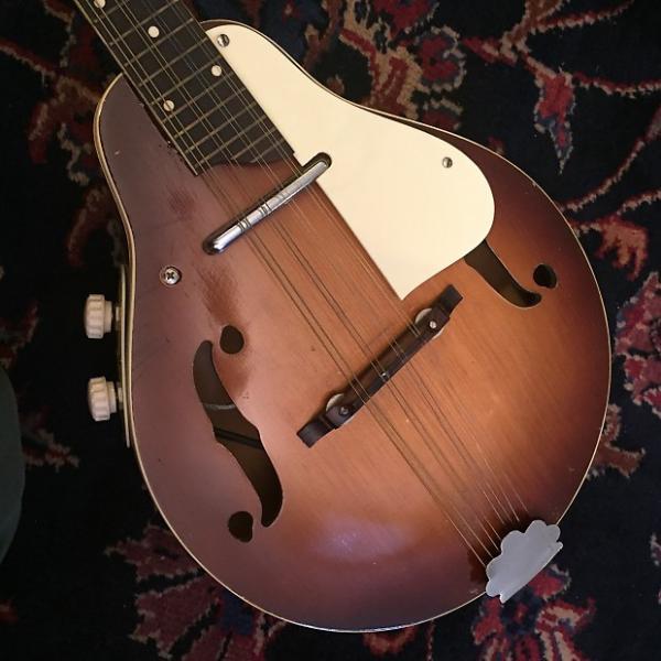 Custom Kay K95 Electric Mandolin Vintage 1950's with case #1 image