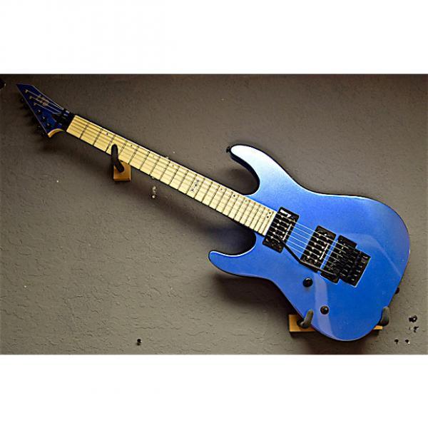 Custom ESP Left Handed LTD M-400M 2016 Ice Blue Metallic Lefty Guitar #1 image