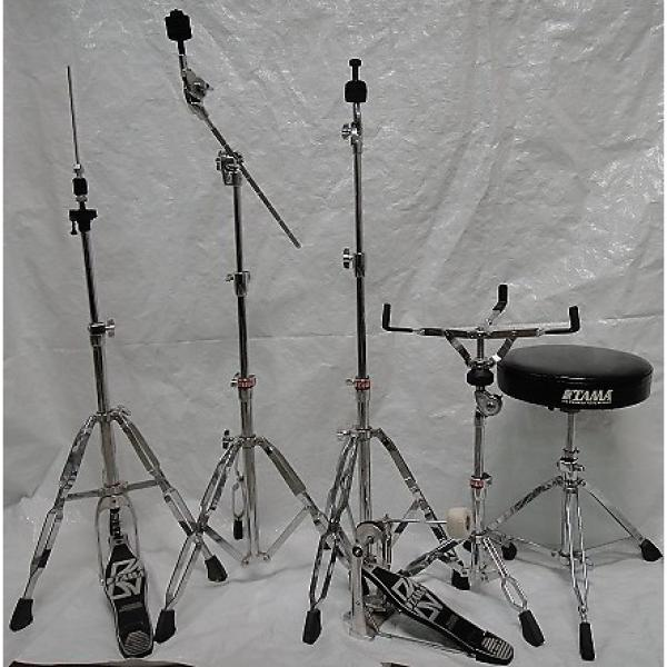 Custom TAMA HARDWARE PACK pedal, hihat, snare stand, straight and boom stand, throne #1 image