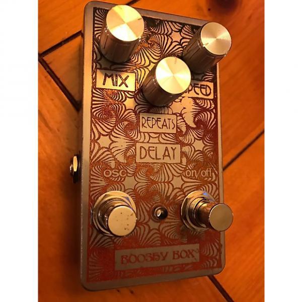 "Custom Joe parker custom Joe parker ""Booshy Box"" Delay w/ oscillation (plus bonus !) #1 image"
