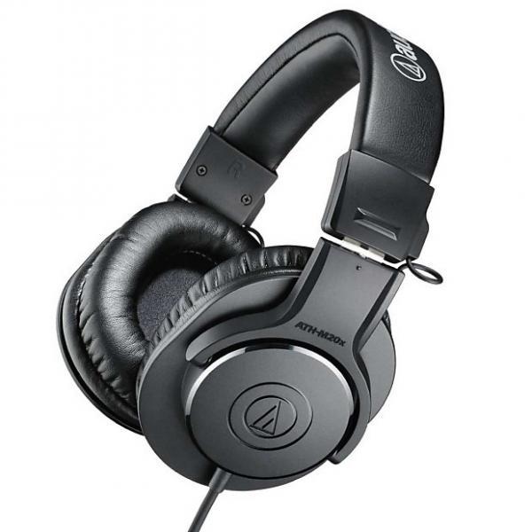 Custom Audio-Technica ATH-M20x Closed-Back Professional Studio Monitor Headphones #1 image