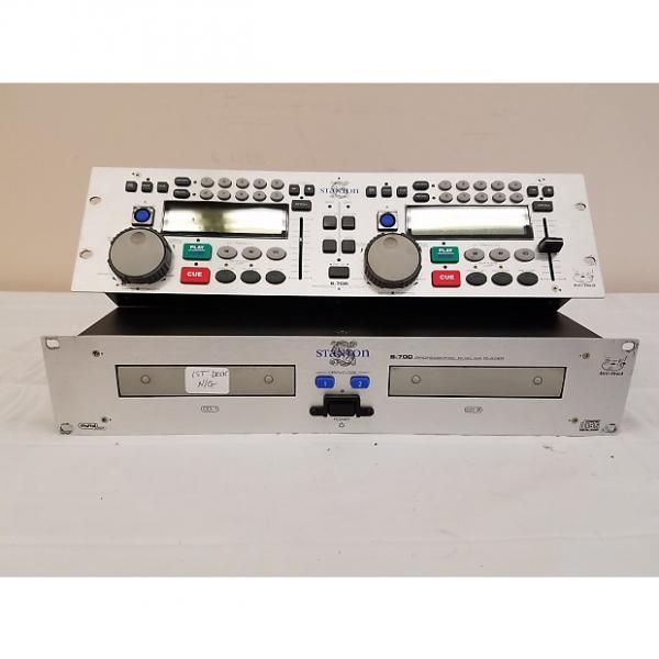 Custom Stanton S-700 Professional Dual CD Player w/Controller (For Repair) #1 image