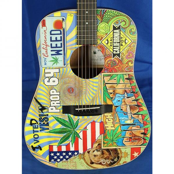 Custom Martin D-420 D420 Prop 64 Mahogany & Spruce Acoustic Guitar w/ OHSC Custom Grpahics #1 image