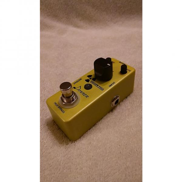 Custom Donner Yellow Fall Analog Delay pedal #1 image