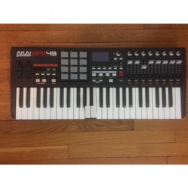 Custom Akai MPK 49 MIDI controller keyboard - 2 broken keys #1 image