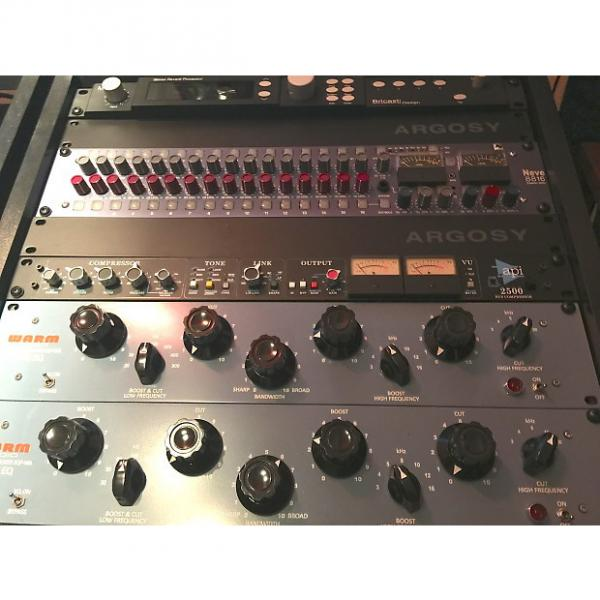 Custom Warm Audio EQP-WA Tube EQ Pair 2015 Baby Blue #1 image