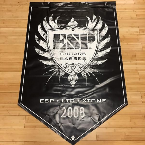 "Custom ESP Guitars Display Banner 36""x56"" 2008 #1 image"