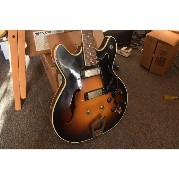 Custom Hagstrom Viking Bass 1967ish? - FOR PARTS - Sunken in body #1 image