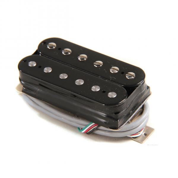 Custom Gibson 500T Super Ceramic Pickup - Double Black Bridge 4-Conductor #1 image