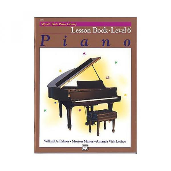 Custom Alfred's Basic Piano Library Level 6 - Lesson #1 image