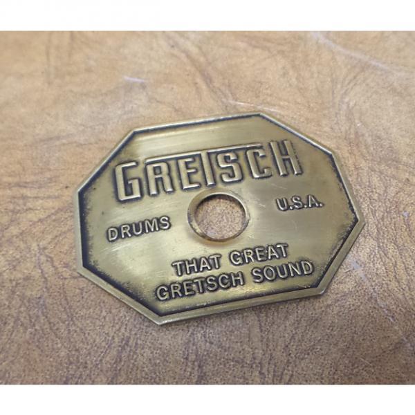 Custom Gretsch Drum Badge 1970's #1 image