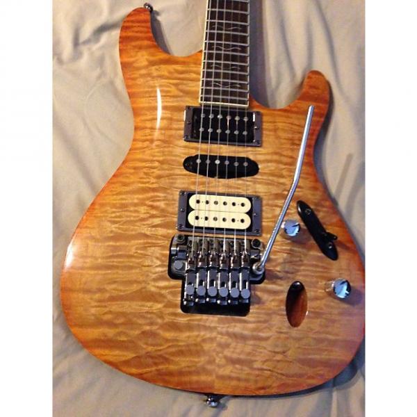 Custom Ibanez S470 DXQM Electric guitar - AMAZING!!  DiMarzio, Wolfetone pickups #1 image