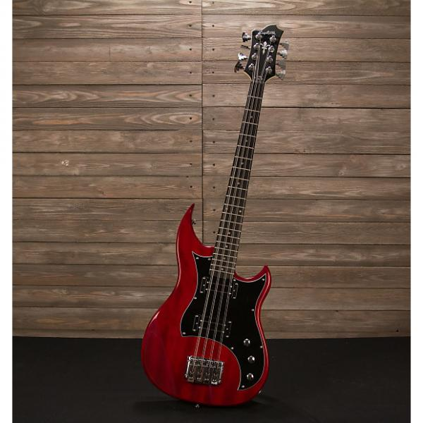 Custom Hagstrom HB-8 8-String Cherry #1 image