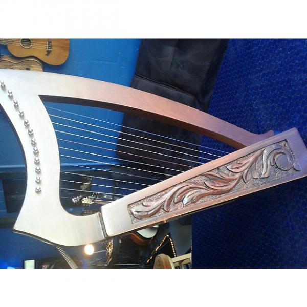 Custom NEW! 12 String Harp Celtic  2017 Wood #1 image