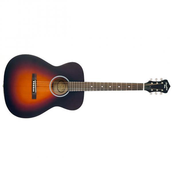 Custom Recording King ROHO5 sunburst guitar vintage styling #1 image
