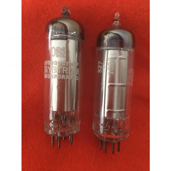 Custom Daystrom 0B2 vacuum tubes  matched pair #1 image