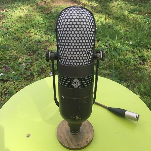 Custom RCA 77DX Ribbon Microphone with desk stand #1 image