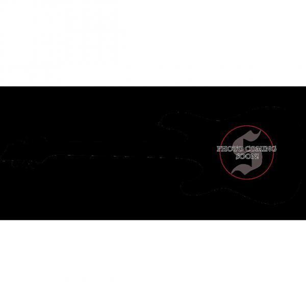 Custom Schecter Omen-6 Left-Handed Electric Guitar in Gloss Black Finish #1 image