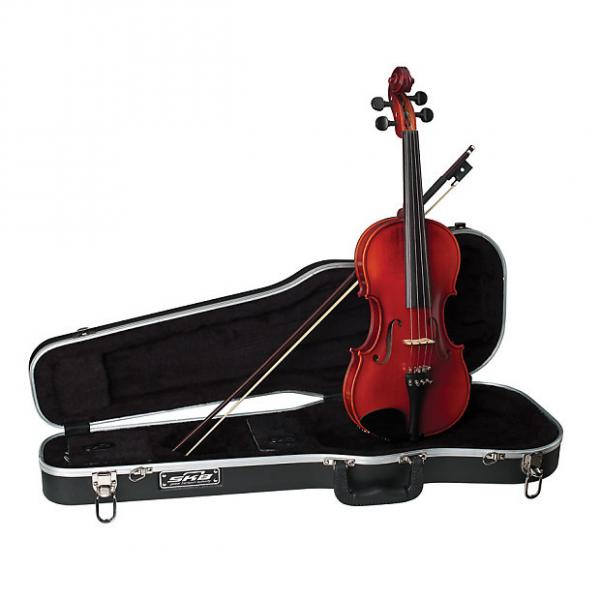 Custom Becker 175F Prelude Series 1/2 Size Violin Outfit with Case and Bow #1 image