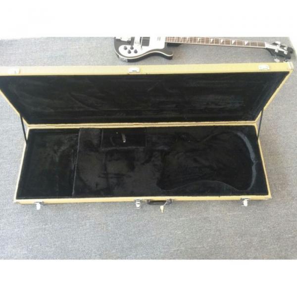 Custom Jetglo 4003 Neck Thru Body Construction Black Bass #3 image