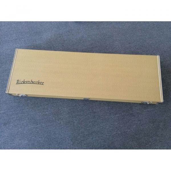 Custom Shop Rickenbacker Silver Burst 4003 Bass #1 image