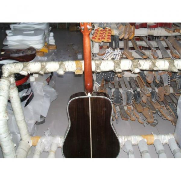 Inspired Custom Shop Martin D 45 Acoustic Electric Guitar #4 image
