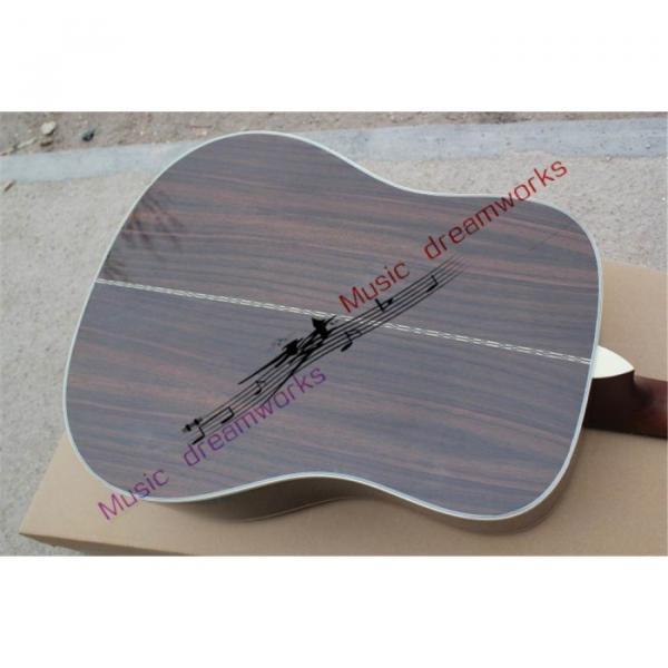 Custom Shop Martin D28 Natural Finish Acoustic Guitar Sitka Solid Spruce Top With Ox Bone Nut & Saddler #5 image