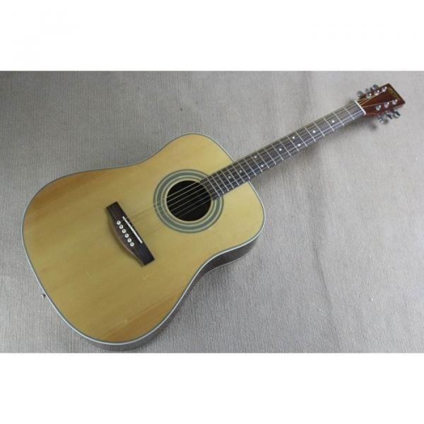 Custom Shop Martin D28 Natural Acoustic Guitar Sitka Solid Spruce Top With Ox Bone Nut & Saddler #1 image