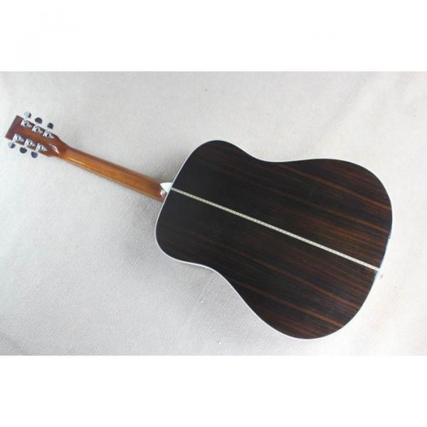Custom Shop Martin D28 Natural Acoustic Guitar Sitka Solid Spruce Top With Ox Bone Nut & Saddler #2 image