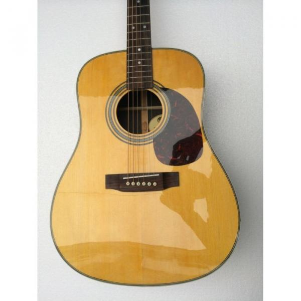 Custom Shop Martin 41 Inches D28 Natural Acoustic Guitar Sitka Solid Spruce Top With Ox Bone Nut & Saddler #1 image