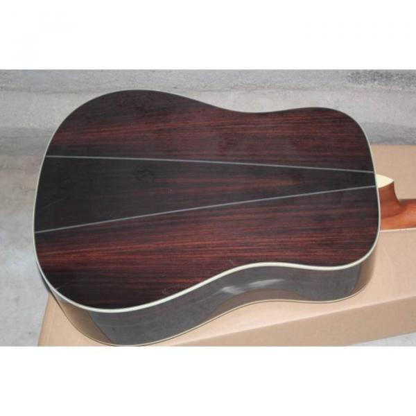 Custom Shop Martin Solid Spruce Top D28 Natural Acoustic Guitar Sitka Solid Spruce Top With Ox Bone Nut & Saddler #3 image
