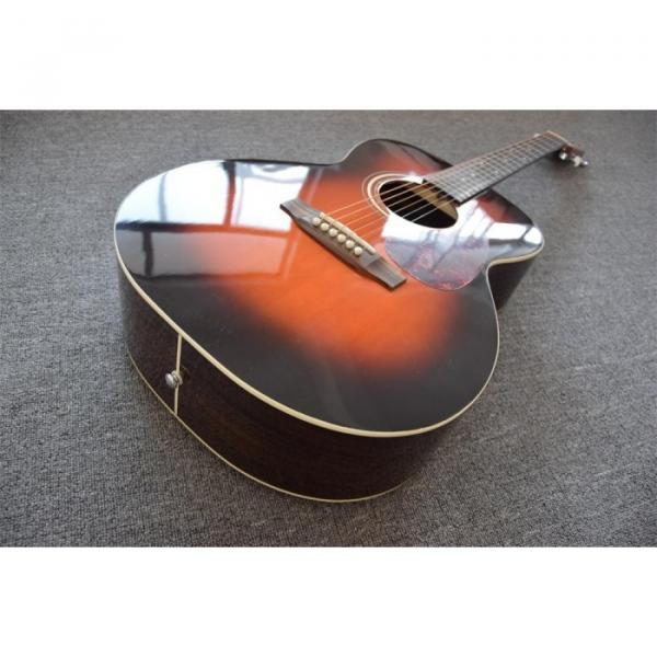 Custom Shop Martin 40 Inches D28 Acoustic Guitar Sitka Solid Spruce Top Tobacco Burst #1 image