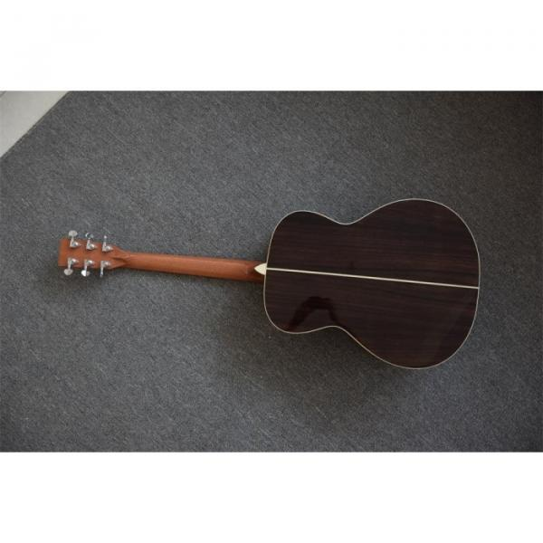 Custom Shop Martin 40 Inches D28 Acoustic Guitar Sitka Solid Spruce Top Tobacco Burst #4 image